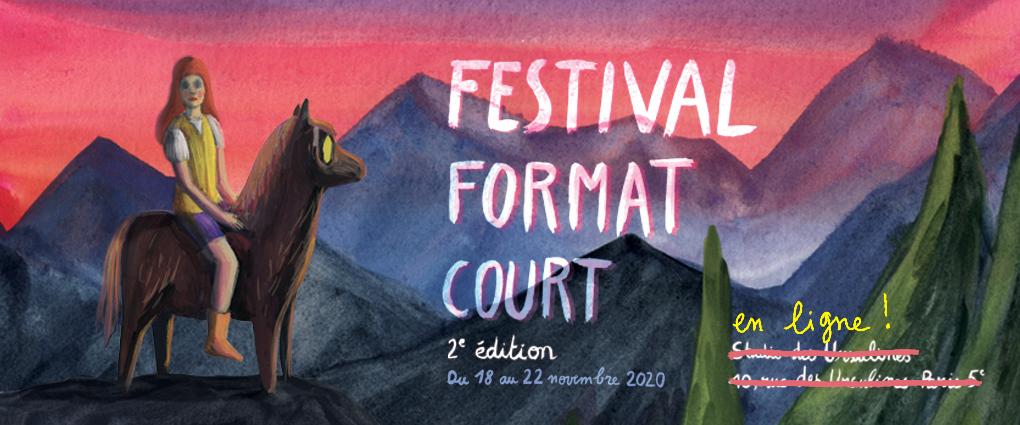 Rencontre avec Katia Bayer, directrice artistique du Festival Format Court à l'occasion de la reprise du Palmarès 2020